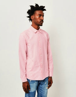 EDWIN Cadet Oxford Mens Shirt Pink