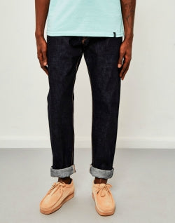 EDWIN Classic Regular Tapered Madein Japan Rainbow Selvedge Jeans Unwashed mens