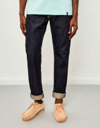 EDWIN ED-55 Regular Tapered 63 Rainbow Selvedge Jeans Unwashed mens