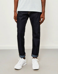 EDWIN ED-55 Relaxed Tapered Deep Blue Jeans Unwashed mens