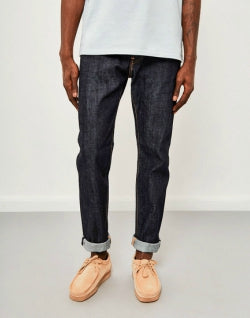 EDWIN ED-80 Slim Tapered Red Listed Selvedge Jeans Unwashed mens