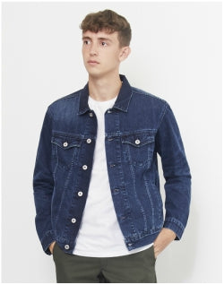 EDWIN High Road Deep Blue Denim Jacket Mens