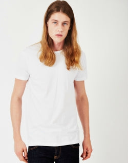 EDWIN Mens Double Pack T-Shirt White