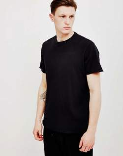 EDWIN Terry mens T-Shirt Black mens