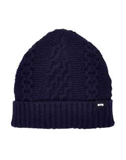 edwin united beanie navy men
