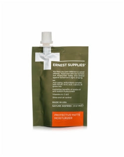 ERNEST SUPPLIES Protective Matte Moisturiser Pouch 74ml Mens