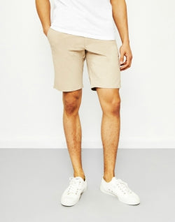 FARAH Hawk Chino Shorts Tan mens