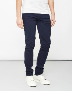 FARAH Mens Slim Fit Jeans Navy