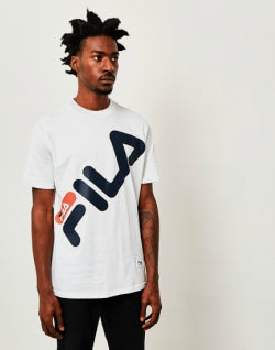FILA Graphic Logo T-Shirt White mens