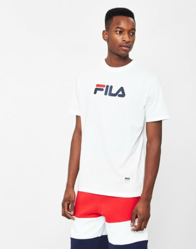 FILA Logo T-Shirt White mens