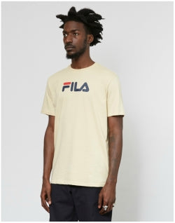 FILA Noah Graphic T-Shirt Off White Mens