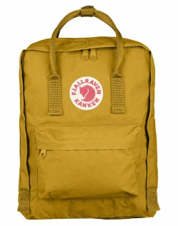 FJALLRAVEN Kanken Bag Yellow mens