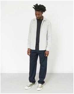 FOLK Drawcord Trousers Navy Mens