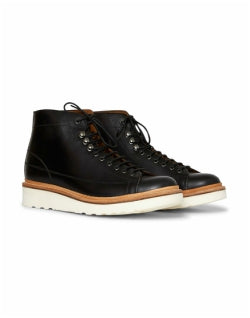 GRENSON Andy Monkey Boot Black Mens