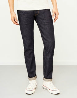 HAWKSMILL Japanese Selvedge Dry Slim Tapered Fit Jeans mens