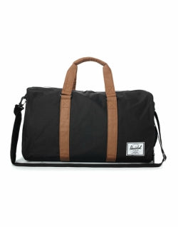 HERSCHEL Mens Novel Weekend Bag BlackHERSCHEL Mens Novel Weekend Bag Black