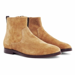 HUDSON Lancing Suede Mens Boot Sand