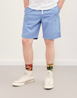 HUF Sun Dazy Easy Short Blue mens