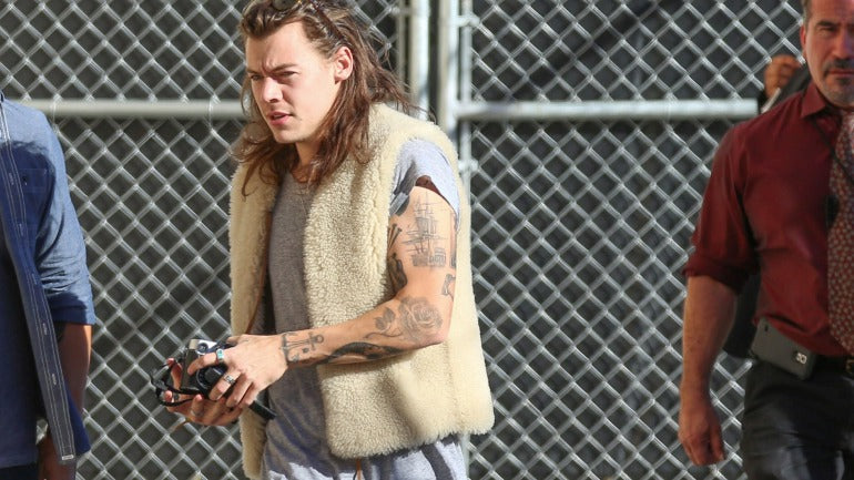 Harry styles casual