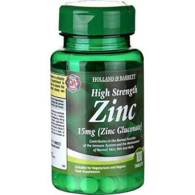 Holland and Barrett - High Strength Zinc Tablets