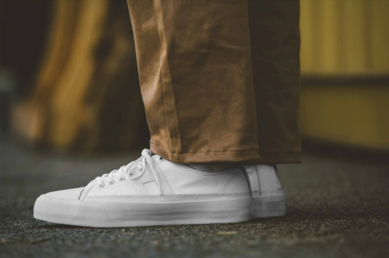 Huf trainers streetstyle white