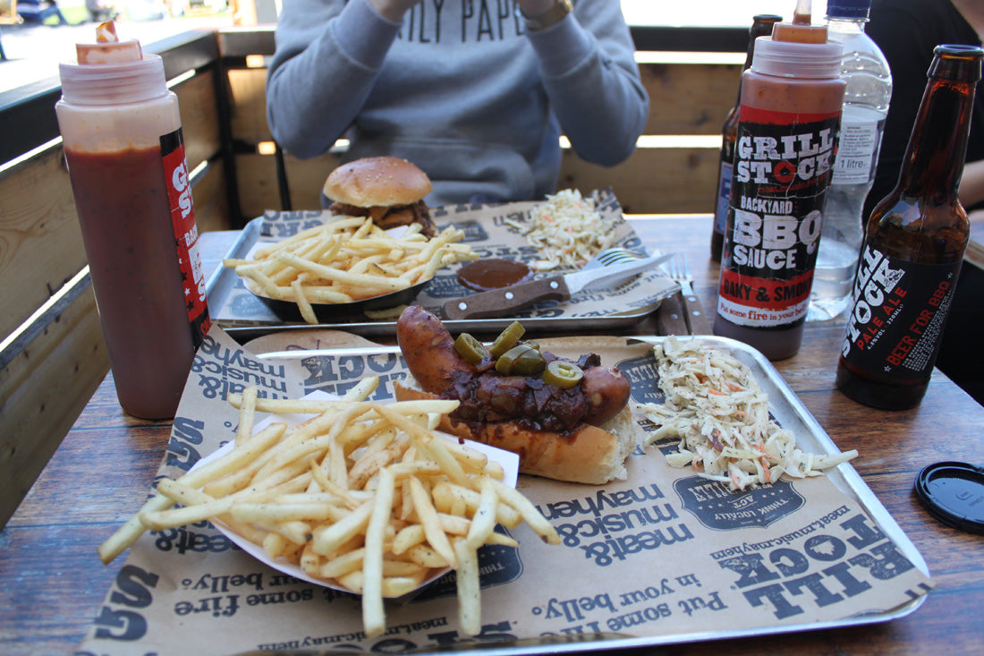 We kicked things off with some serious BBQ meat courtesy of Grillstock