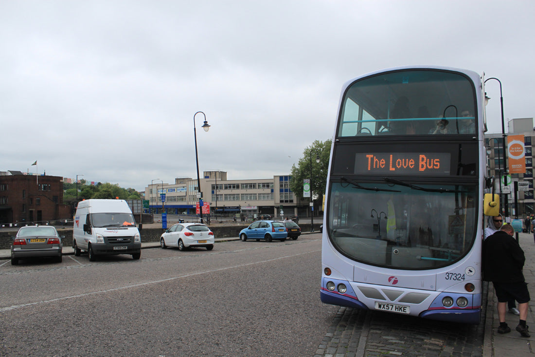 Jumped on The Love Bus to Eastville Park