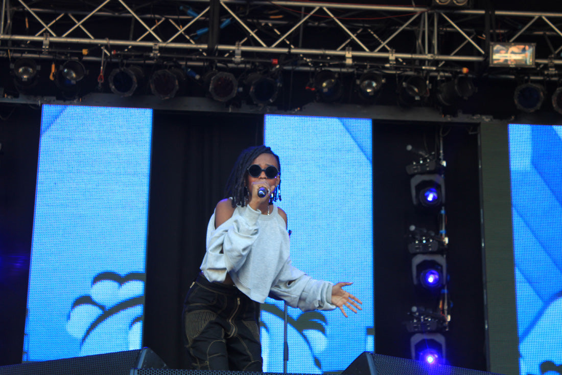 Easily our favourite performance of the weekend - the amazing Kelela
