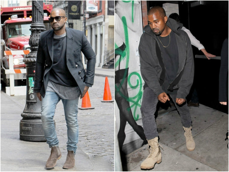 kanye west boots look