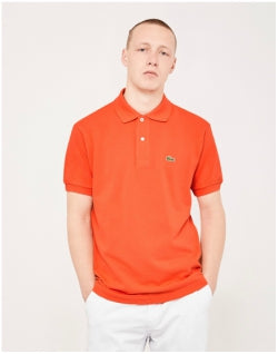 LACOSTE L.12.12 Polo Shirt Orange Mens