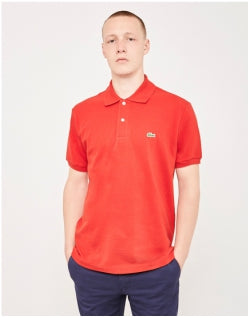 LACOSTE L.12.12 Polo Shirt Red Mens