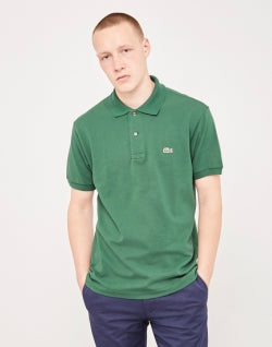 LACOSTE Short Sleeve Polo Shirt Green mens