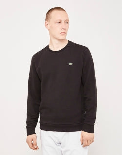 LACOSTE Sweatshirt Black Mens