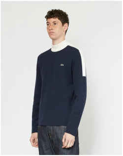 LACOSTE Theme 2 Sweater Navy Mens