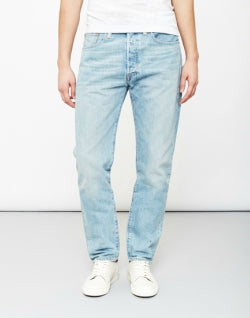 LEVIS 501 Huxley Customized and Tapered Jeans Blue mens