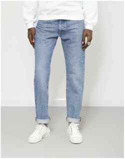 LEVIS 501 Original Fit Crosby Jean Blue Mens