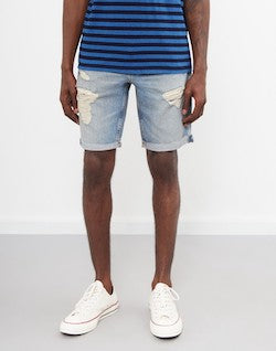 LEVIS Red Tab 511 Slim Cut-Off Shorts Surfside Blue mens