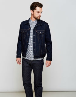 LEVIS The Trucker Jacket Navy for Men