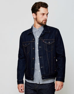 LEVI'S The Trucker Jacket Navy mens