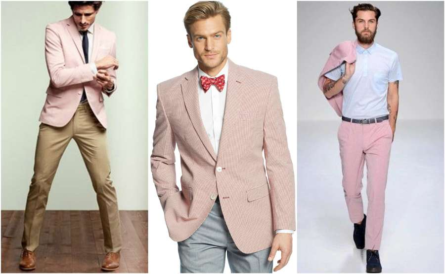 52d12475da6 Light Pastel Pink Coloured Blazer Men Casual Street Style Shirt Chinos