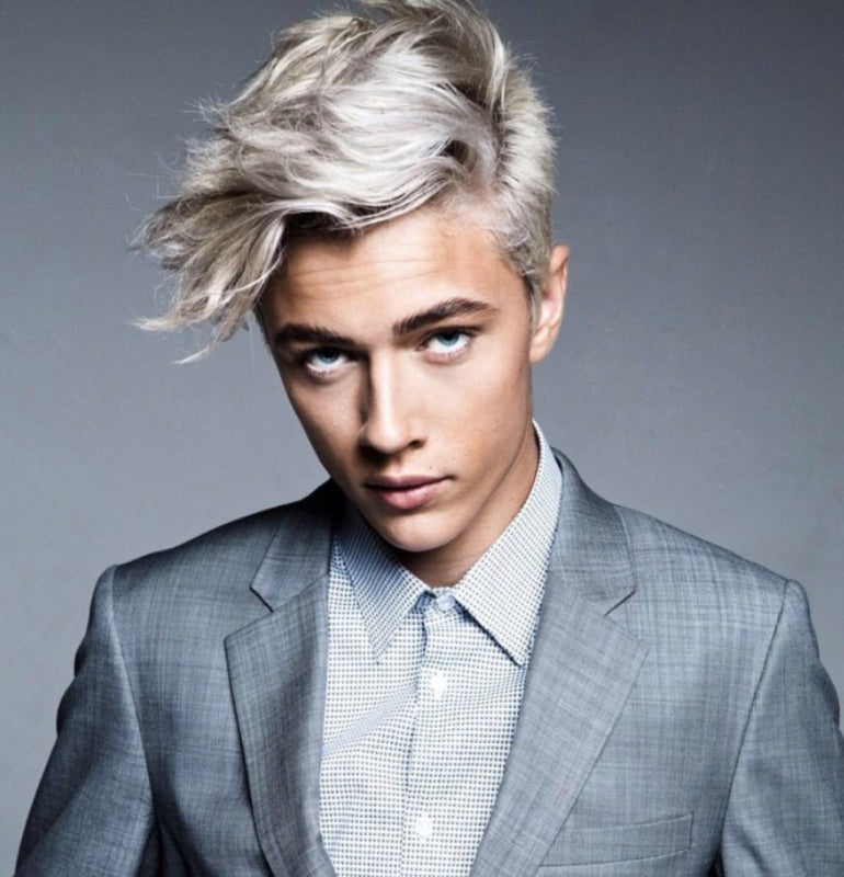 How To Dye Your Hair Blonde For Men