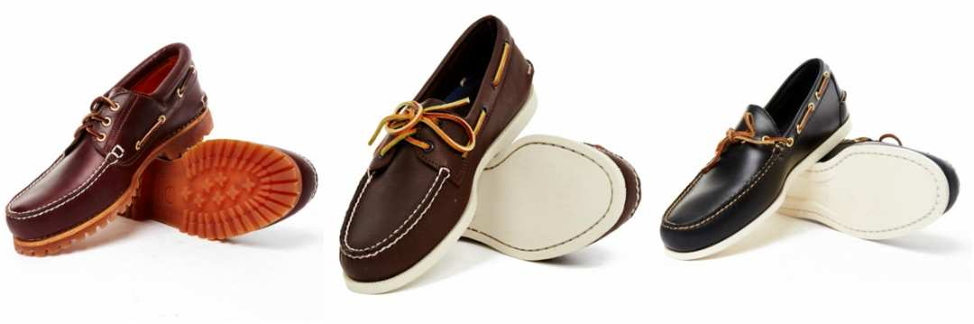Mens Boat Shoes in Various Styles