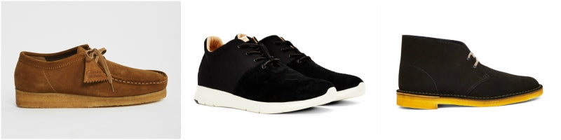 Mens Casual suede Boots and Shoes