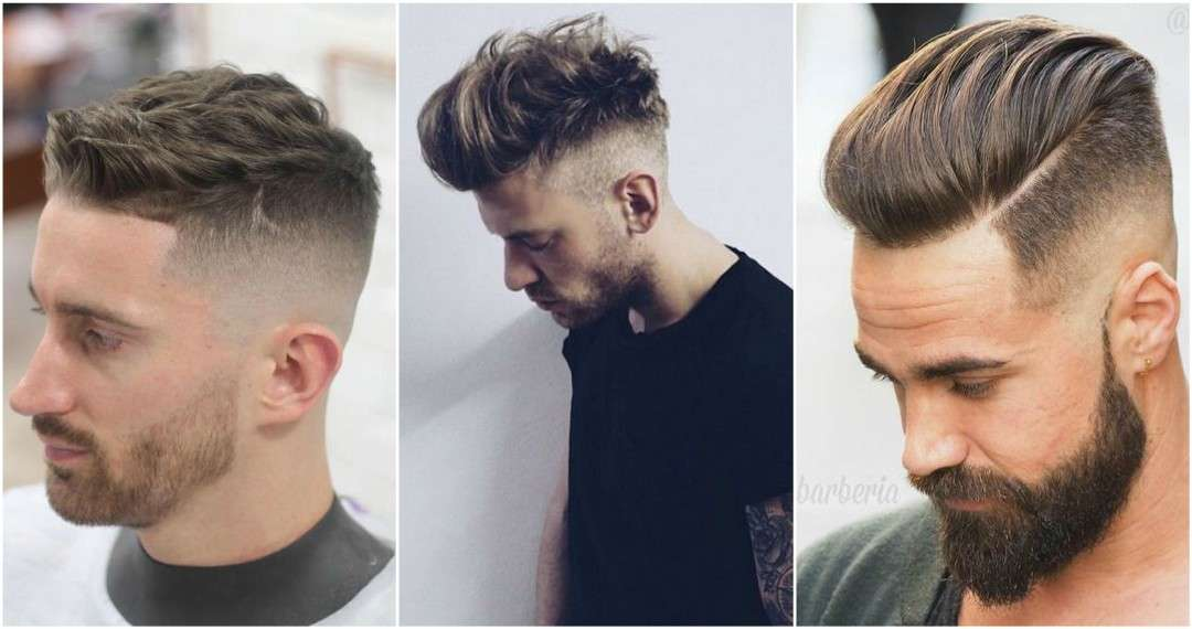 Mens High Fade Haircut hair terms