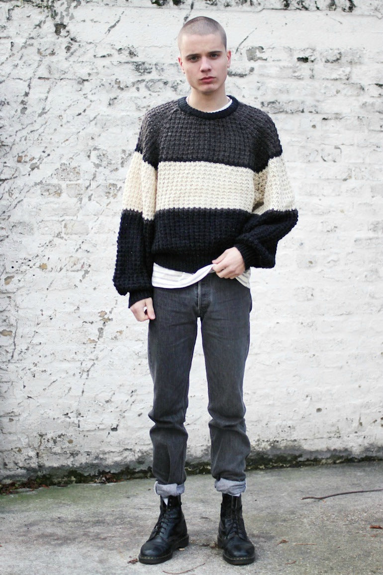 Mens-Style-Oversized-Jumper-Fashion-Jeans