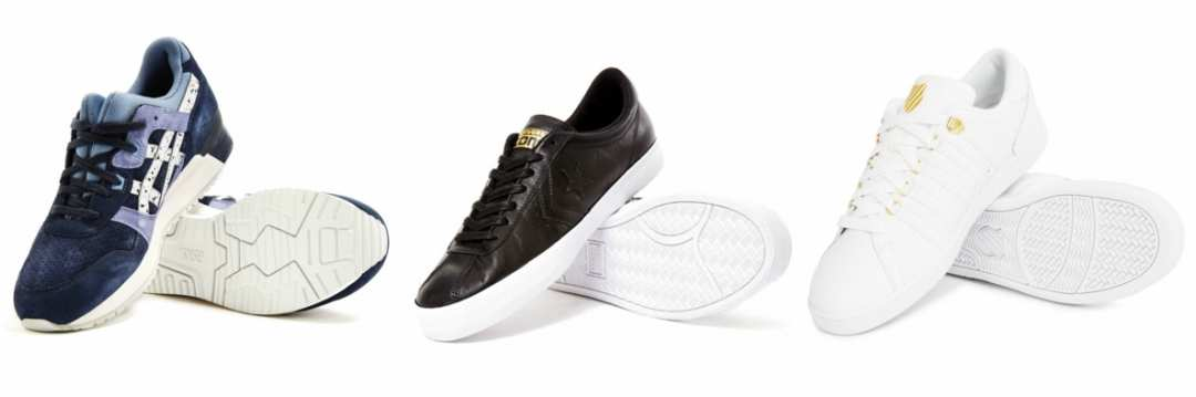 Mens Trainers in Various Styles