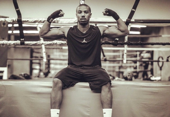 Michael B Jordan gain muscle get ripped fast