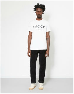 NICCE Logo T-Shirt White Mens