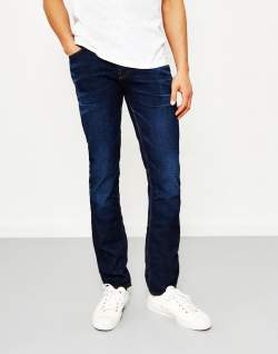 NUDIE JEANS CO Grim Tim Crispy Secrets Blue Jeans