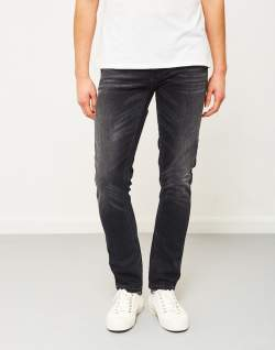NUDIE JEANS CO Grim Tim Dark Days Jeans Grey